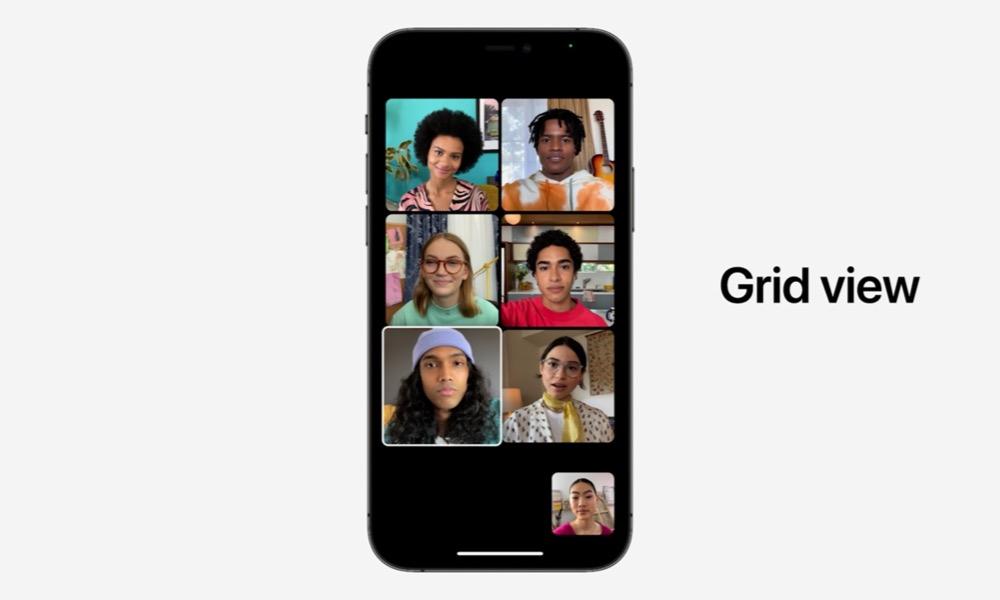 Grid View FaceTime